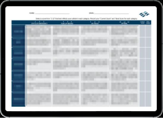 Ocean 6 Financial Scorecard screenshot