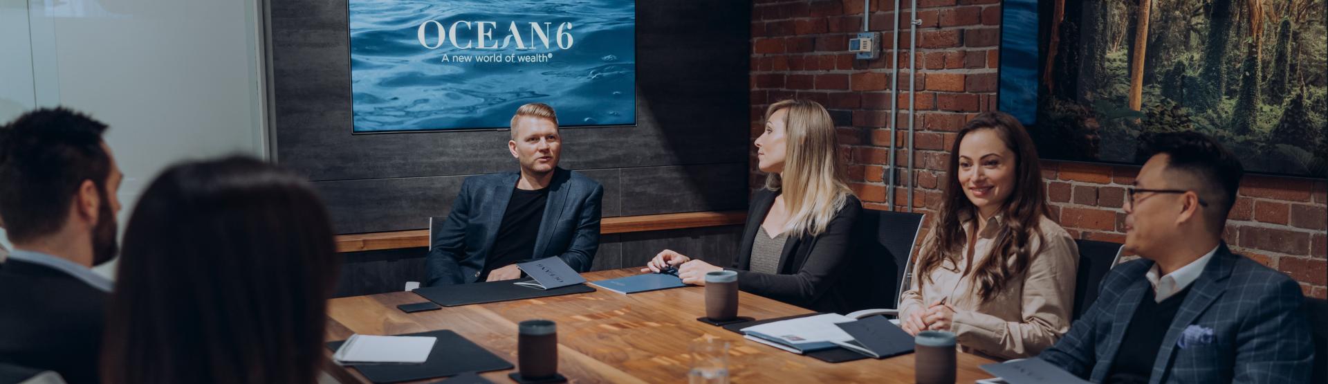 Ocean 6 Team Meeting